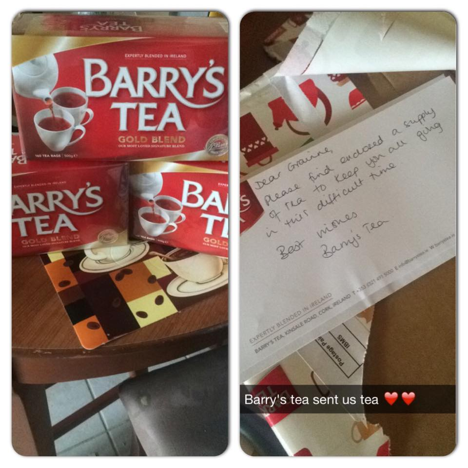 Barrys Tea Makes Heartfelt Gesture To Irish Students After Balcony Collapse bt