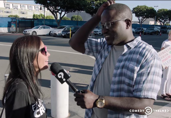 Hannibal Buress Trolls A Group Of Vegan PETA Protesters buress peta WEB