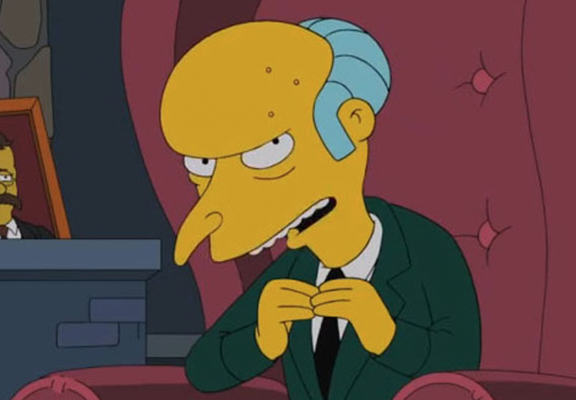Harry Shearer Is Returning To The Simpsons, Panic Over burns web