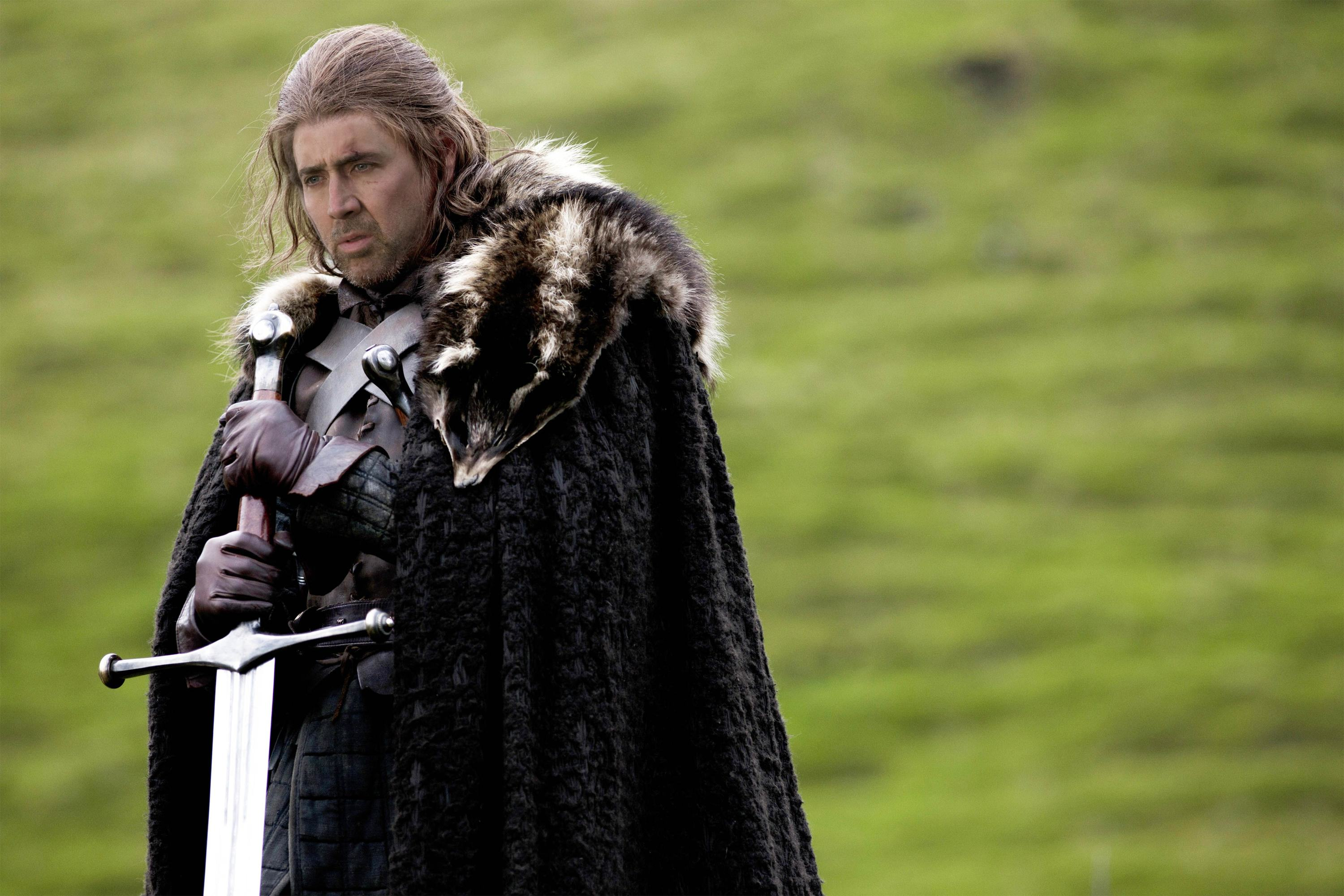 Nicolas Cage As Every Game Of Thrones Character Is Glorious cage of thrones 1