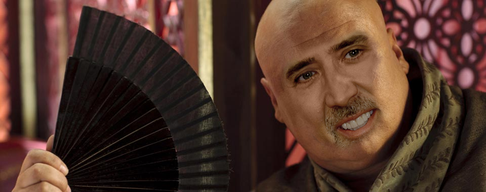 Nicolas Cage As Every Game Of Thrones Character Is Glorious cage of thrones 17
