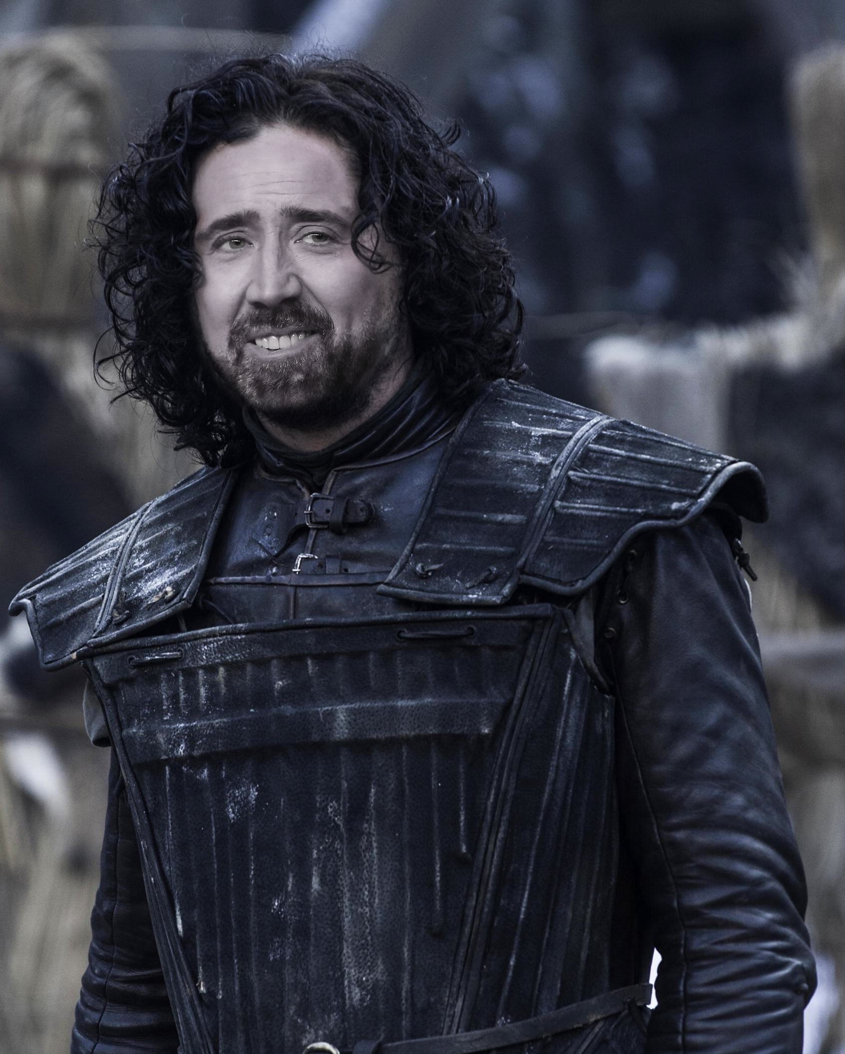 Nicolas Cage As Every Game Of Thrones Character Is Glorious cage of thrones 3