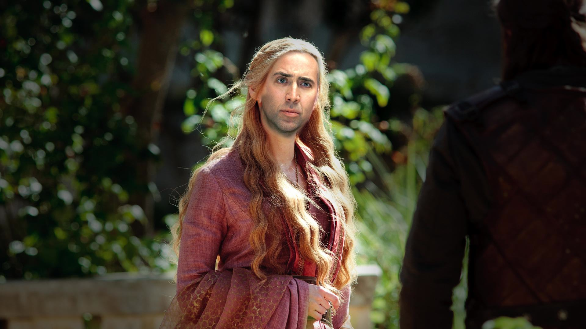 Nicolas Cage As Every Game Of Thrones Character Is Glorious cage of thrones 7