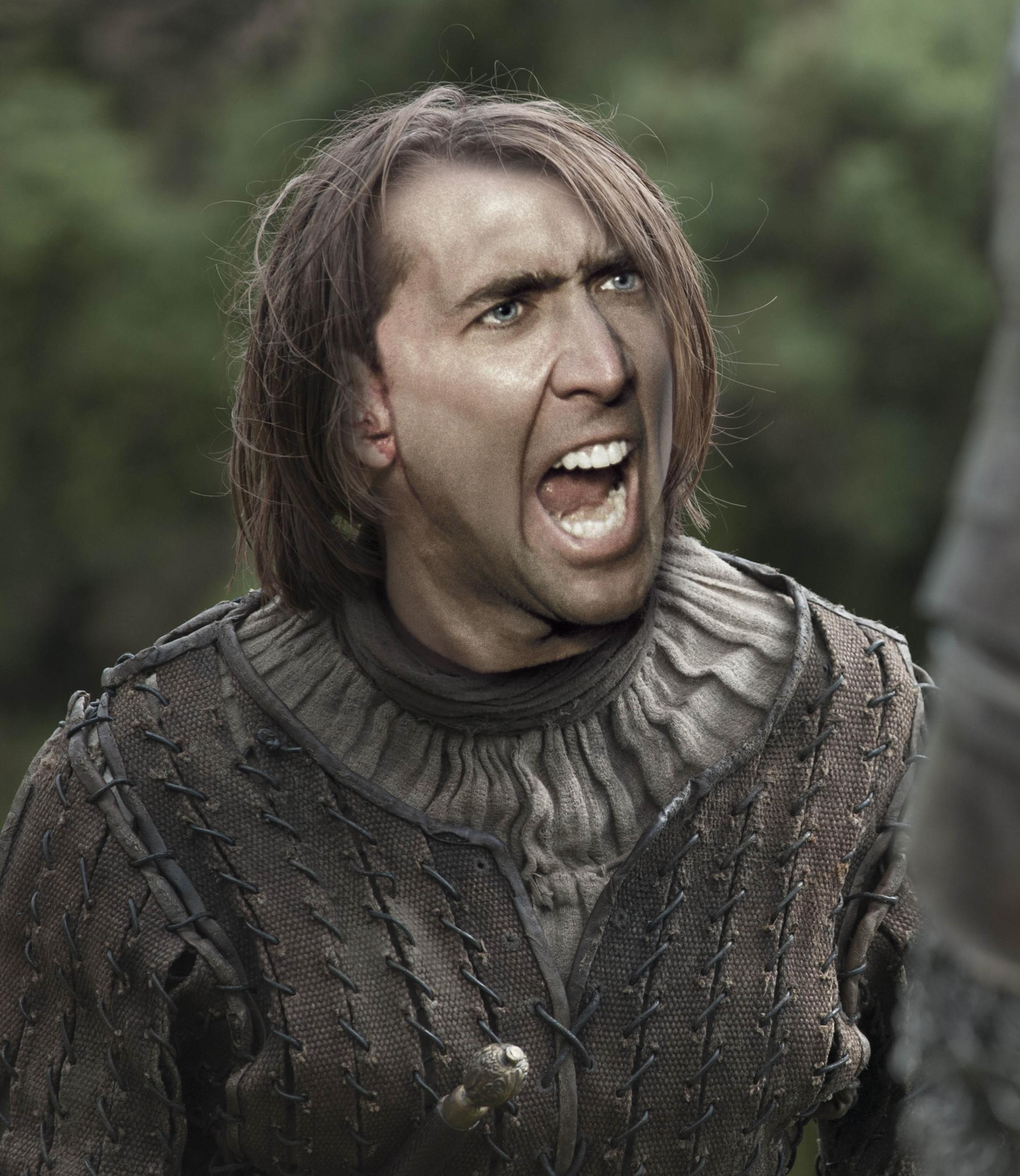 Nicolas Cage As Every Game Of Thrones Character Is Glorious cage of thrones 8