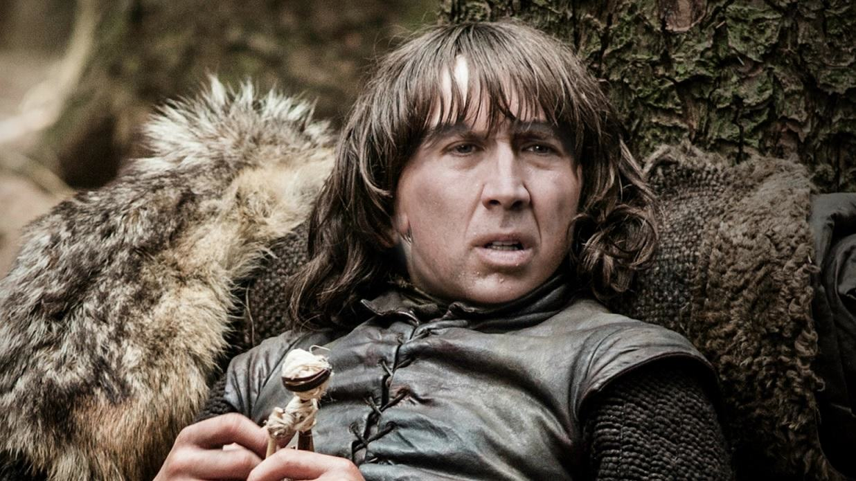 Nicolas Cage As Every Game Of Thrones Character Is Glorious cage of thrones 9
