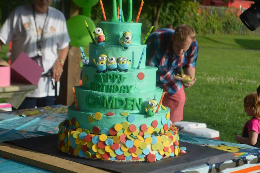 Kid Gets Amazing Birthday Party After Parents Thought Nobody Would Show camden3