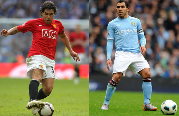 Five Of The Most Controversial Transfers Of The Last Decade carlos tevez man utd city