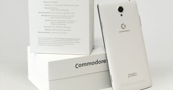 Commodore 64 Smartphone Will Play Retro Computer Games commodorefacebook