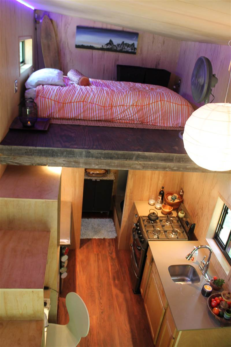 College Student Builds Tiny Home To Help Him Graduate With Less Debt debt free1