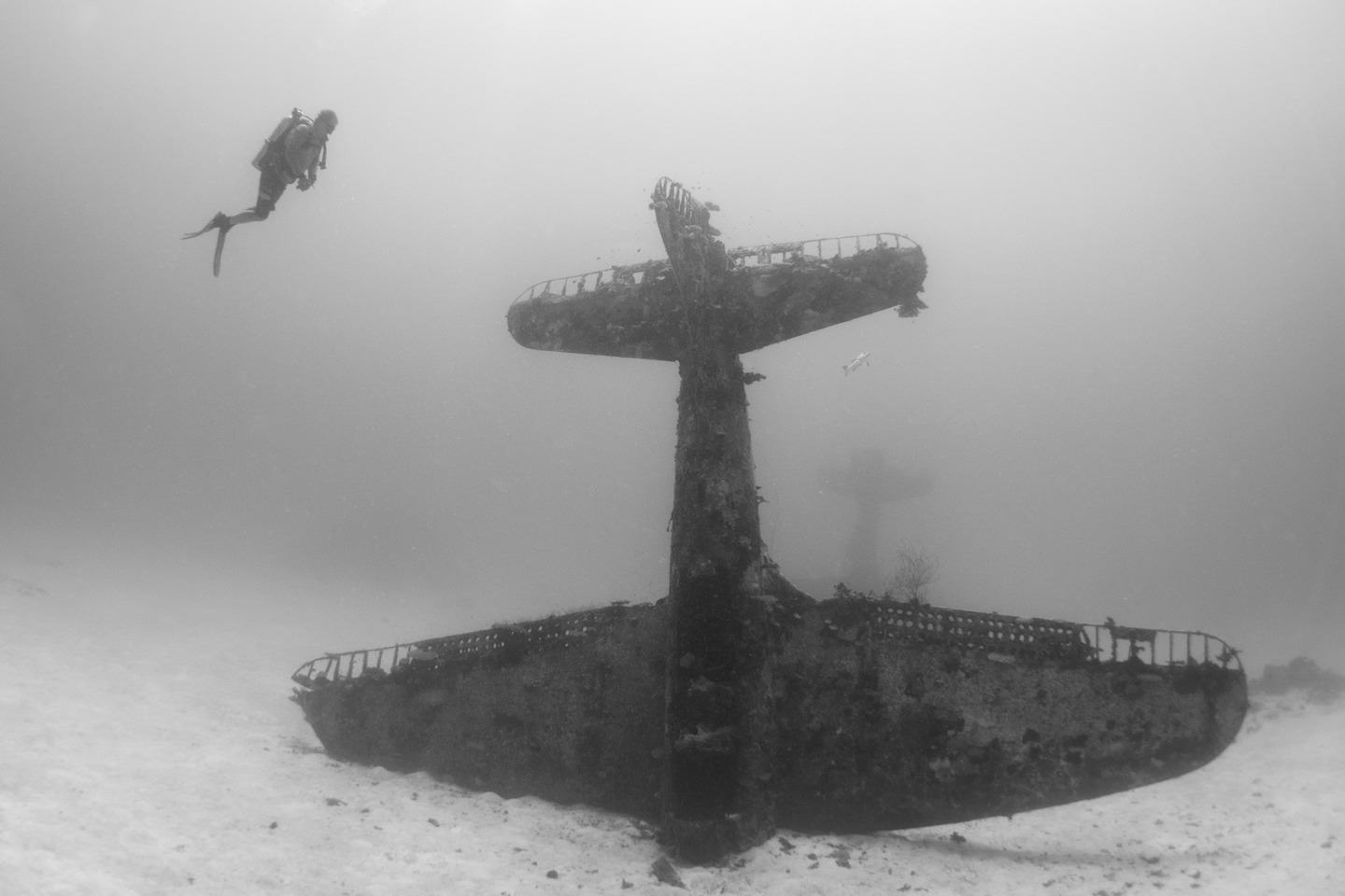 The Pacific Ocean Bed Is A Graveyard For World War II Planes
