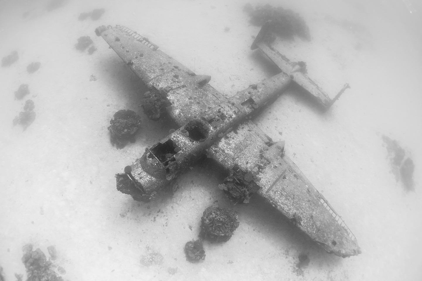 The Pacific Ocean Bed Is A Graveyard For World War II Planes dsc 4845