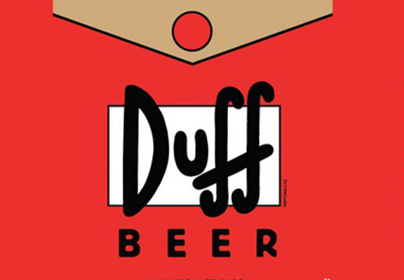 Duff Beer Is An Actual Thing   But Youll Need Your Passport To Buy It duff beer web