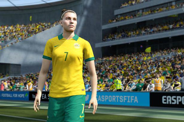 FIFA 16 Will Feature A Female Player On The Cover For The First Time Ever fifa 16 woman 2