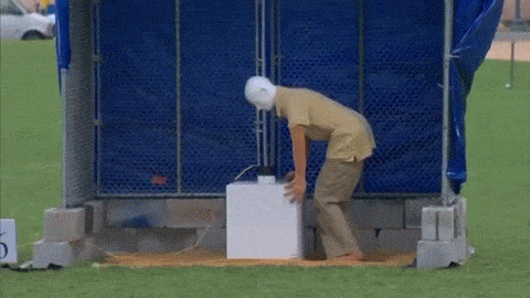 This Firework Safety Display Is Seriously Disturbing And Hilarious Rolled Into One fires gif