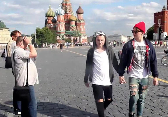 Hidden Camera Video Shows How Scary It Actually Is To Be Gay In Russia gay russia WEB