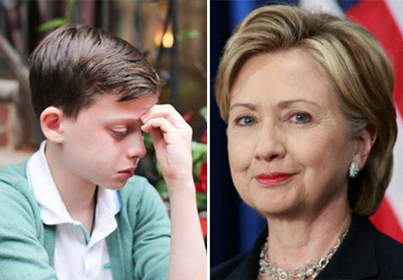 Hillary Clinton And Ellen DeGeneres Show Support For Humans Of New York Gay Teen gay teen WEB