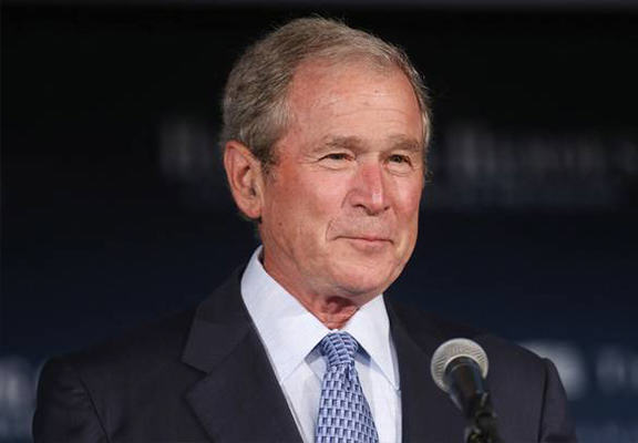 George W Bush Charged $100,000 For Speech To War Veterans Injured In Iraq And Afghanistan george bush WEB