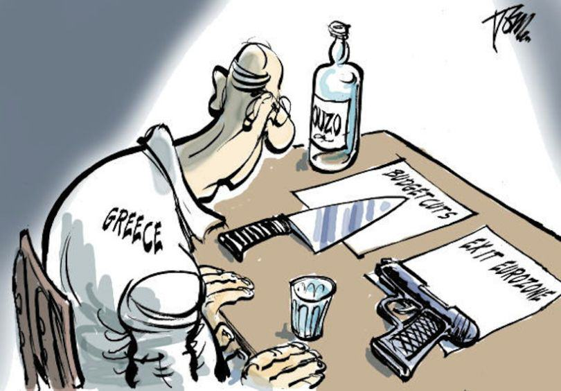 The Greek Debt Crisis Has Been Explained In Cartoons greek crisis 11
