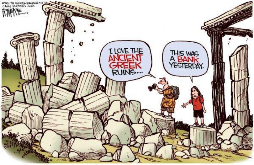 The Greek Debt Crisis Has Been Explained In Cartoons greek crisis 13