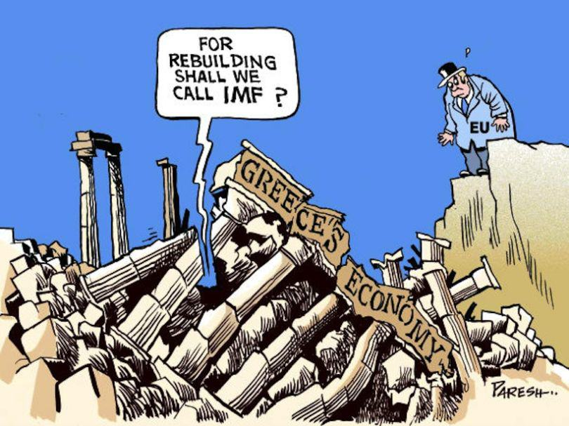 The Greek Debt Crisis Has Been Explained In Cartoons greek crisis 19