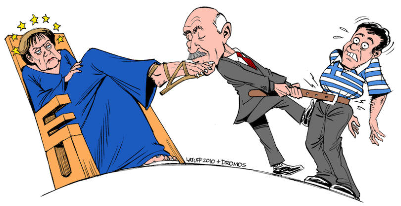 The Greek Debt Crisis Has Been Explained In Cartoons greek crisis 2