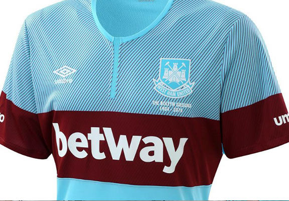 The Worst New Football Kits For The 2015/16 Season hammers 3