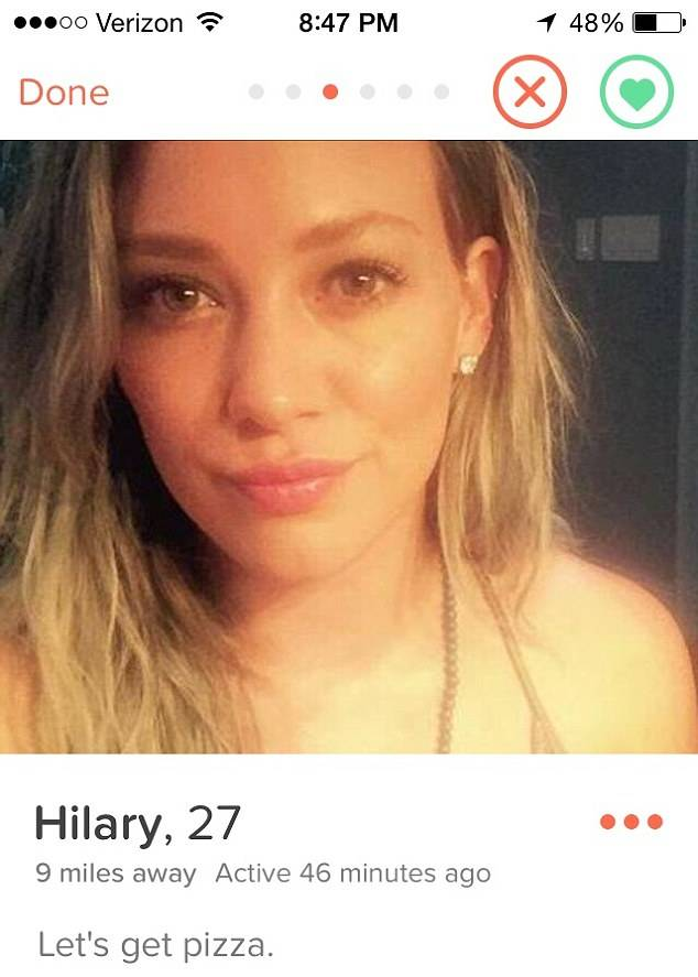Hilary Duff Has Quit Tinder After Seven Guys Actually Rejected Her hilary duff 2