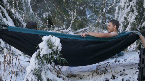 New Hot Tub Hammock May Be The Best Thing Ever And You Can Help Fund It hot tub hammock
