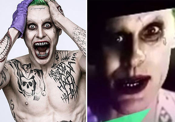 Jared Letos Joker Comes To Life In Leaked Suicide Squad Trailer joker WEB