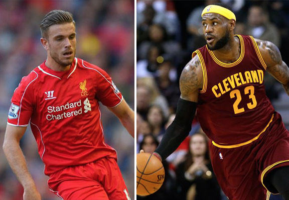 LeBron James Has Joined The Campaign To Get Jordan Henderson On The FIFA 16 Cover jordan henderson WEB