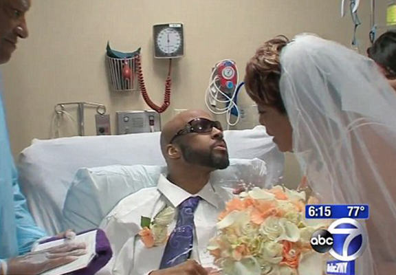 Terminal Cancer Patient Weds In Hospital In Touching Ceremony kb web