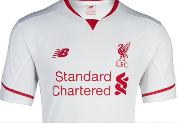 The Best New Football Kits For The 2015/16 Season lfc ok