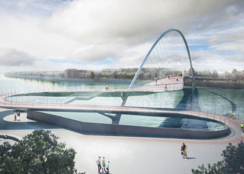 Here Are The Final Four Designs For Londons New Cycle Bridge london cycle bridge 1