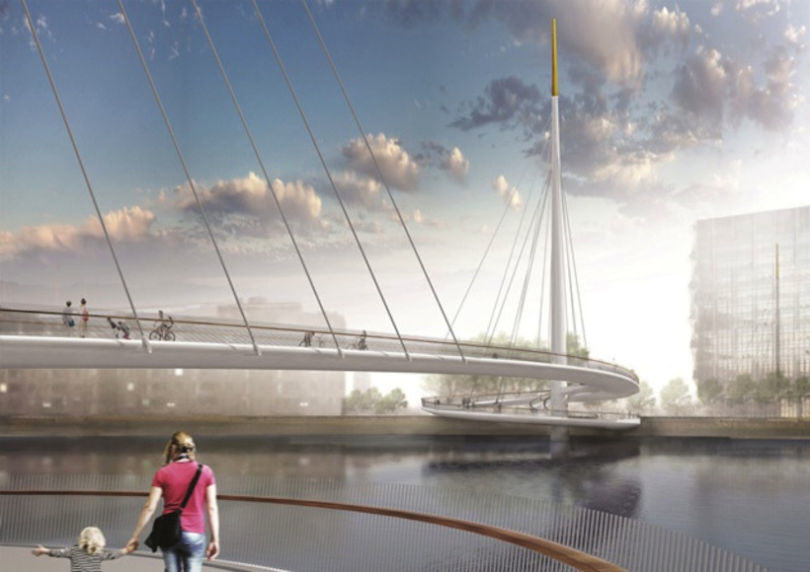 Here Are The Final Four Designs For Londons New Cycle Bridge %name