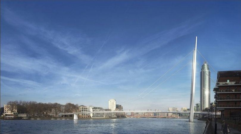 Here Are The Final Four Designs For Londons New Cycle Bridge london cycle bridge 4