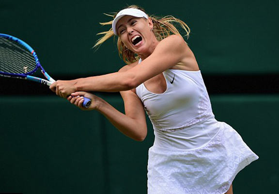Maria Sharapova Is Getting Some Serious Hate Over Her Grunting In Wimbledon Win maria web