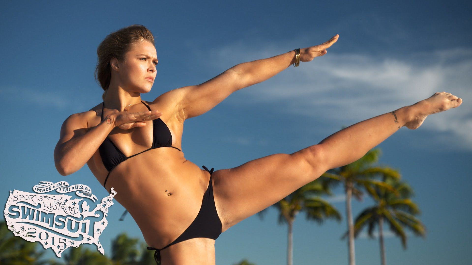 The Video For Ronda Rouseys SI Swimsuit Edition Is Here maxresdefault