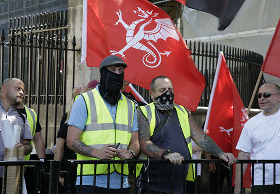 Neo Nazis Tried To Hold A Rally In London But Hardly Anyone Showed Up neo nazis WEB