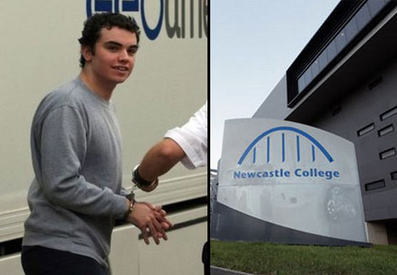 British Teenager Accused Of Plot To Bomb College Which Expelled Him newcastle bomb WEB