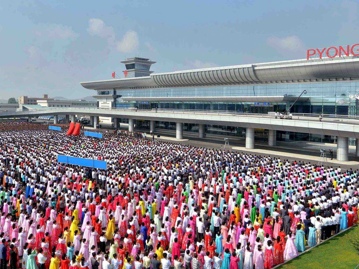 Heres A Closer Look At North Koreas Stunning New Airport nk airport 2