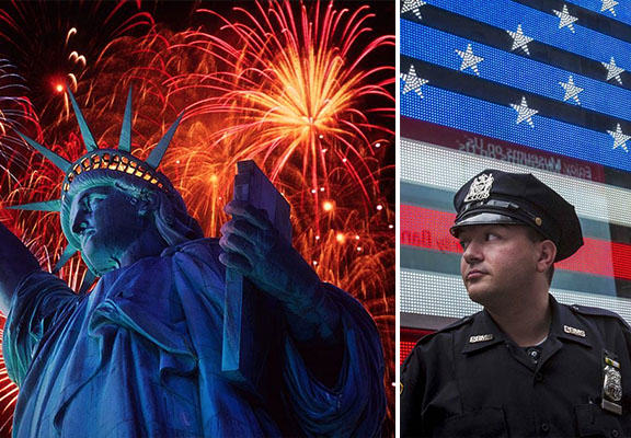 Increase In Security At NYC Fourth Of July Celebrations After Terror Threat nyc july WEB