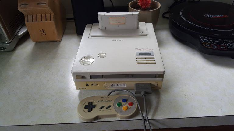 Man Finds Rare Nintendo PlayStation Console From Early 90s ps