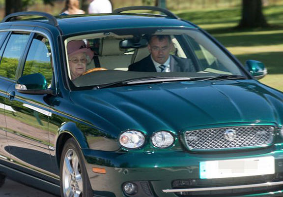 Impatient Queen Takes Car Off Road To Avoid Young Family queen web
