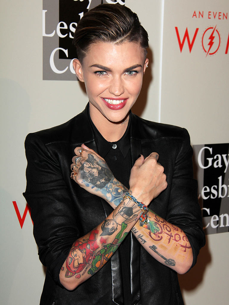 OITNB Star Ruby Rose Saved Up For A Sex Change From Age Five ruby rose 1