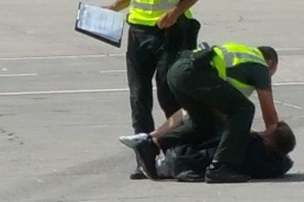 British Man Dragged Off Flight By Police For Causing Havoc ryan4