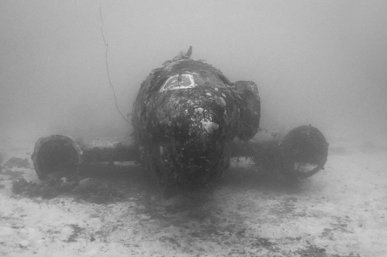 The Pacific Ocean Bed Is A Graveyard For World War II Planes screen shot 2015 07 24 at 10 44 29