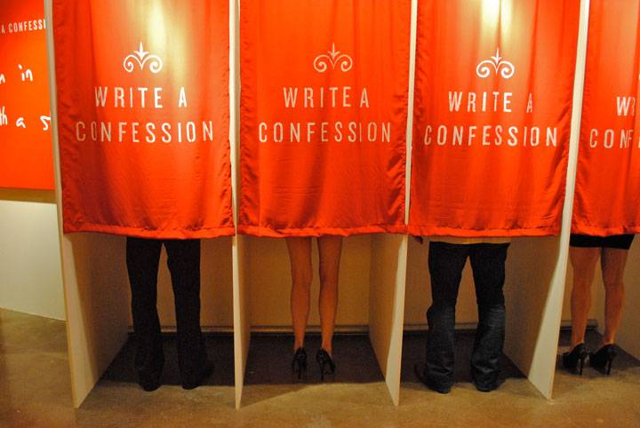 Art Project Asking People To Confess Their Darkest Secrets Is Exactly Like You Might Expect secrets4