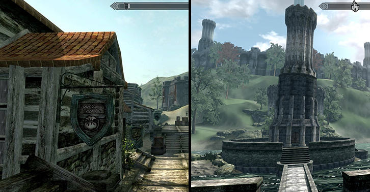 Fans Have Created Oblivion In Skyrims Engine And It Looks Superb skyblivionfacebook