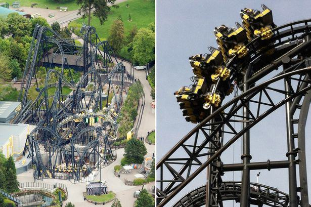 Yet Another Rollercoaster Crash At Alton Towers smiler