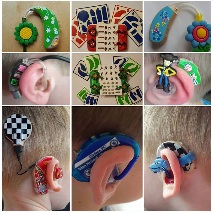 Mother Designs Amazing Hearing Aids For Kids Using Superheroes superhero2